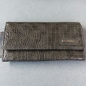 Kenneth Cole Elongated Clutch Wallet